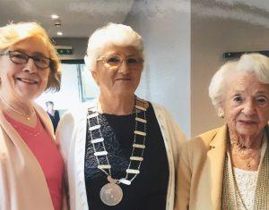 Delia Meehan, Patsy O'Hara and and Pat Kilfeather
