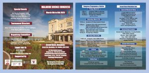 Malahide Bridge Congress 2020 BROCHURE